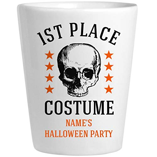 1st Place Costume Halloween Prize: Ceramic Shot Glass -