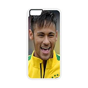 Design Cases iPhone 6s Plus 5.5 Inch Cell Phone Case White Neymar Jjivg Printed Cover