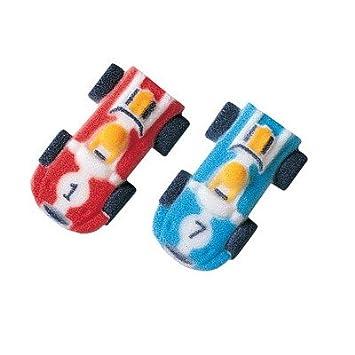 50 Pkg ~ Lucks Mini Race Cars Edible Sugar Dec-ons ~ Cake/Cupcake ...