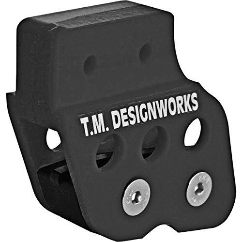 - TM Designworks ATV Chain Guide With Powerlip Wear Pad Black