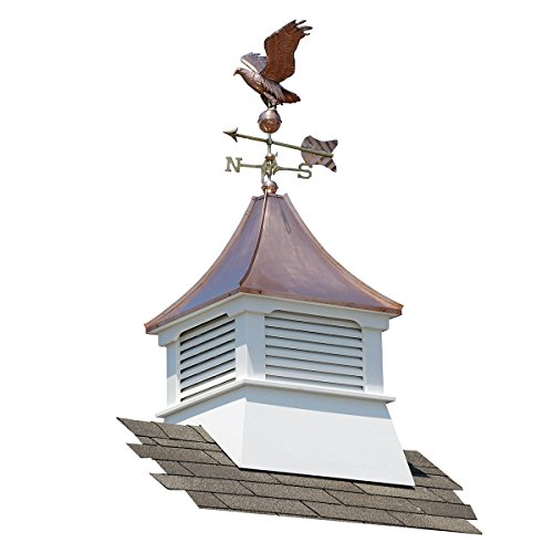Accentua Olympia Cupola with Eagle Weathervane by Accentua