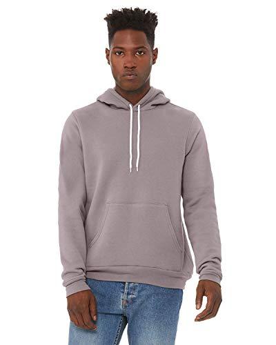 Bella + Canvas - Unisex Hooded Pullover Sweatshirt - 3719 - M - Storm ()