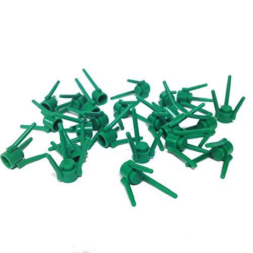 Flower Parts (Lego Parts: Plant Flower/Grass Stems (Service Pack #3741 - 24 Green))