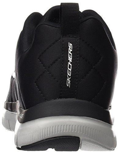 Outdoor 0 Skechers Sportive blk Nero Uomo Scarpe 2 Flex Advantage tCwBnwHfq