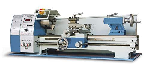"Baileigh PL-1022VS Variable Speed Bench Top Lathe, 110V, 1hp Motor, 10"" Swing, 22"" Bed Length"