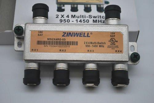 Zinwell MS2X4RO-03 2x4 Multi-Switch ()