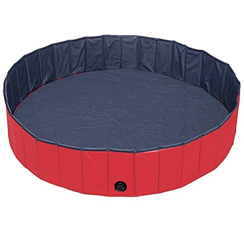 Target Australia Christmas - Slaiya Easy Set Inflatable Swimming Pool (31.5x7.9(in), Red/Black)