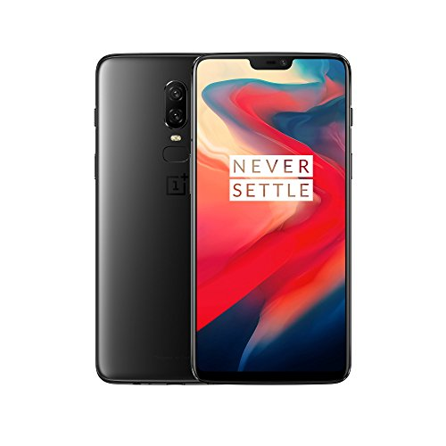 OnePlus 6 A6003 Dual-SIM (256GB Storage | 8GB RAM) Factory Unlocked 4G Smartphone (Midnight Black) - International Version