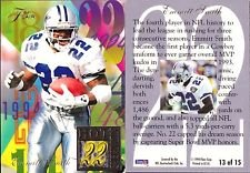 Flair Hot Numbers (1994 Fleer Flair Hot Numbers Emmitt Smith #13 Card)