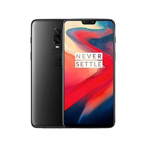 chollos oferta descuentos barato OnePlus 6 Smartphone de 6 22 full optic AMOLED procesador Snapdragon 845 memoria de 8 GB RAM y 256 GB ROM Color Negro