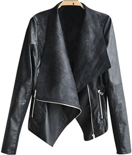 Oversized Motorcycle Jacket - 6