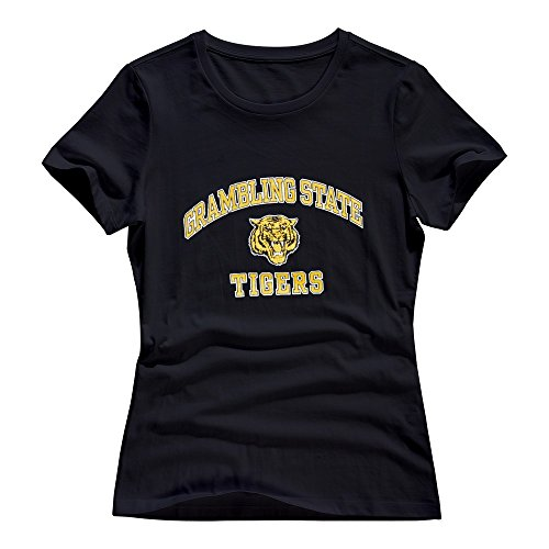 Grambling State Tigers Women T Shirt Size Medium Black