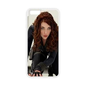 Black Widow Iron Man 2 Movie 0 iPhone 6 4.7 Inch Cell Phone Case White TPU Phone Case SY_820929