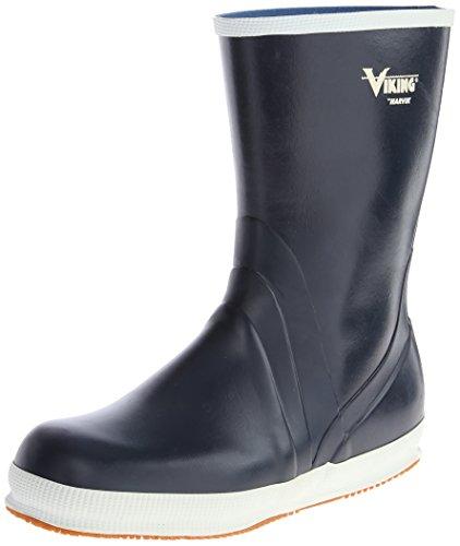 Viking Footwear Mariner Kadett Waterproof Slip-Resistant Boot,Navy,10 M (Viking Rubber Boot)