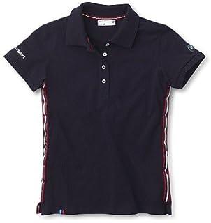 7cab829dd07 Amazon.com  BMW Genuine Wordmark Embroideres Ladies  M Polo Shirt ...