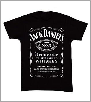 Roly - Camiseta Unisex, diseño de Jack Daniels: Amazon.es: Deportes y aire libre