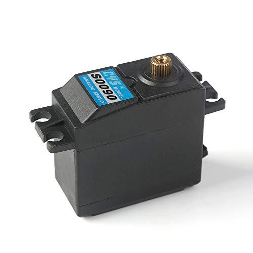 Orcbee  _CYS-S0090 Digital RC Servo 10KG Torque Waterproof Metal RC Servo Motor Black