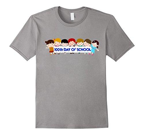 Men's Happy 100th Day Of School T-Shirt Costume Idea Medium (100 Days Of School Costume Ideas)