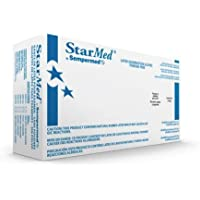 Sempermed Starmed Latex Powder Free Exam Medical Gloves, X-Large (10 Boxes: 1000 Case) by Starmed