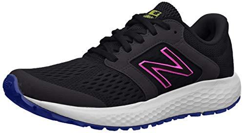 new balance Women's 520v5 Cushioning Running Shoe, Black/Multi, 6 M US
