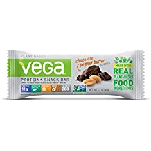 Vega Protein+ Snack Bar, Chocolate Peanut Butter, 1.7 Ounce