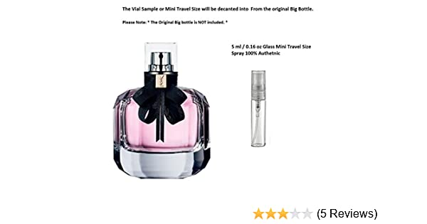 66144c84723 Amazon.com: Yves Saint Laurent Mon Paris 5 ml 0.16 oz spray Glass Mini  Travel size: Health & Personal Care