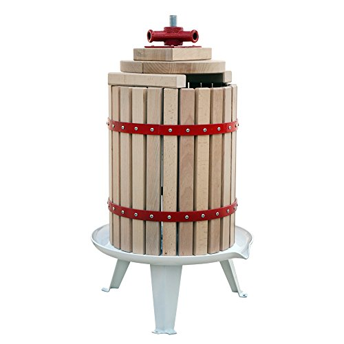 FISTERS 18L Wood Fruit Wine Press Cider Apple Grape Crusher Juice Maker Tool by FISTERS (Image #3)