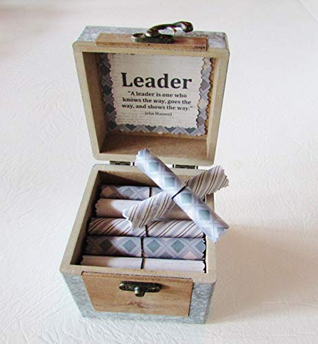 Amazon Boss Gift Day Christmas Birthday Leadership Quotes In Wood Chest Motivational
