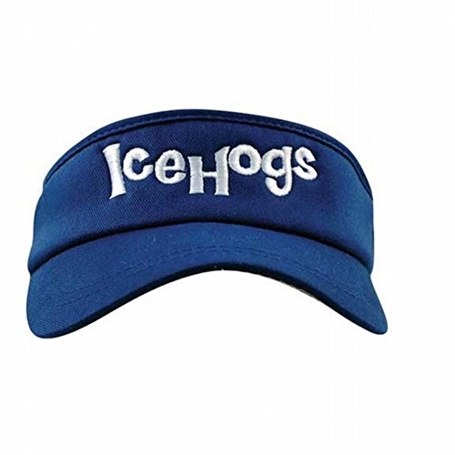 Old Glory Rockford Icehogs - Youth Flexfit Logo Royal (Royal Youth Visor)