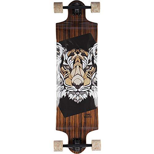 """Landyachtz Switch 35 Tiger Longboard Complete Skateboard - 9.5"""" x 35"""""""
