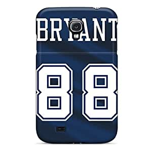 Protective Tpu Case With Fashion Design For Galaxy S4 (dallas Cowboys)