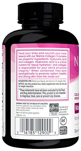 NeoCell - Marine Collagen with Hyaluronic Acid and Vita-Mineral Youth Boost - 120 Capsules (Packaging May Vary)