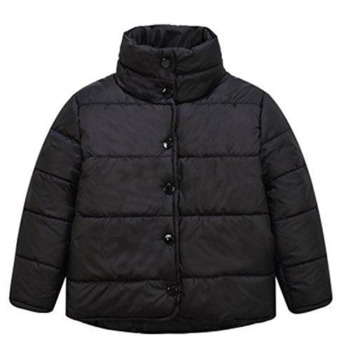 Jacket Newmarket (Kids Outerwear Coats Winter Coat Kids Children Baby Down Jackets Boys Girls Warm Coats 3-7Y Black 7)