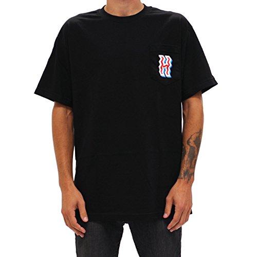 The Hundreds Crook Pocket Tee (Black) T-Shirt-Medium