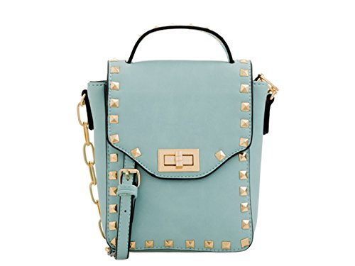 Designer Phone Mint Fashion LeahWard Women's Case Cross Holiday Studded Bags Bag Purse Small Flower Floral Cute Little Body fOEBqpEw