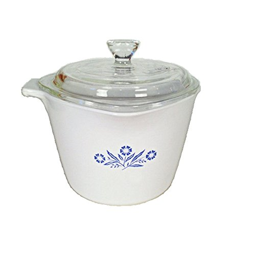 Corning Ware Cornflower Blue Saucemaker Pan ( 1 Quart ) ( 4 Cups / 32 Oz )