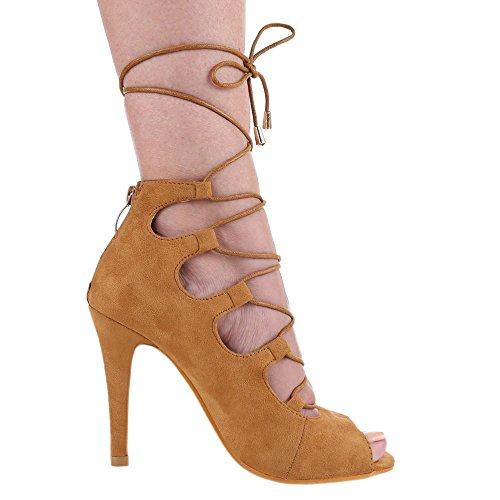 Ital-Design - Sandalias / Sandalias Mujer Marrón - beige camel