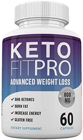 Keto Fit Pro Boost - Advanced Weight Loss with Metobolic Ketosis Support - 60 Capsules - 1 Month Supply 1