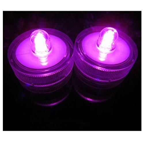 Pink Led Candle Lights - 6