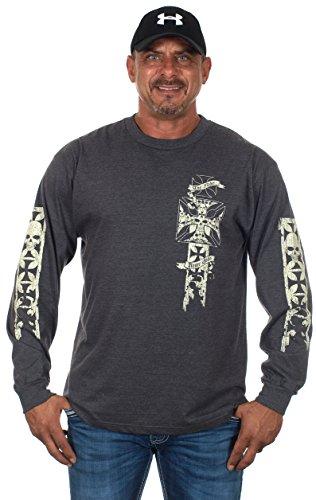 Long Sleeve Biker Shirt - 7