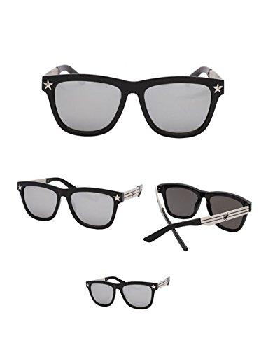 Frame amp;lunettes Réfléchissantes couleur Soleil Lovers Protection Lunettes C Large De amp; C Personnalité 8HwqdRR