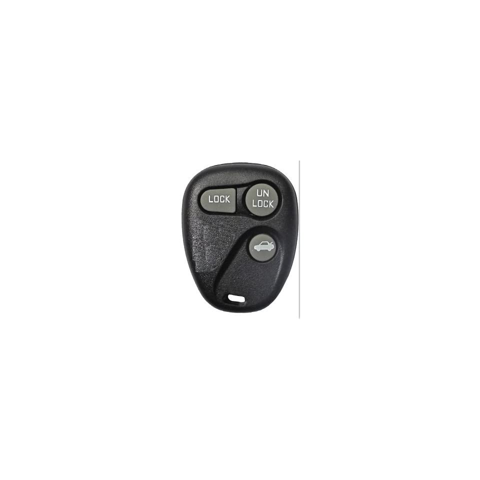 1997 1998 Pontiac Grand AM Keyless Entry Remote Fob Clicker With Free Do It Yourself Programming+ Free eKeylessRemotes Guide