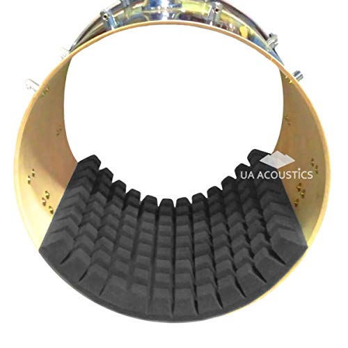 Drum Damper Muffling Pad for Bass Drum Sound Control, Kick Drum Absorber