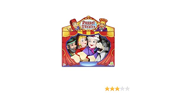 Set Titeres- Marionetas Caperucita Roja Fentoys: Amazon.es ...