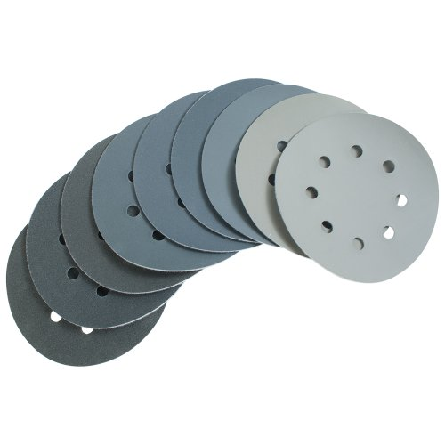 MICRO MESH 5 - 8-HOLE 9 PC SANDING DISC ASSORTMENT PACK by Peachtree Woodworking