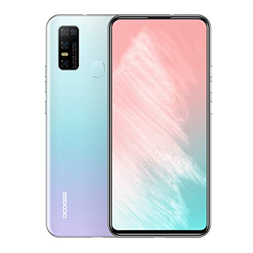 "DOOGEE N30 Unlocked Cell Phones(4GB+128GB) 6.55"" FHD+Perforated Screen, 4500mAh High Capacity Battery Smartphone with 16MP AI Quad Camera, Android 10 and Dual 4G Volte"