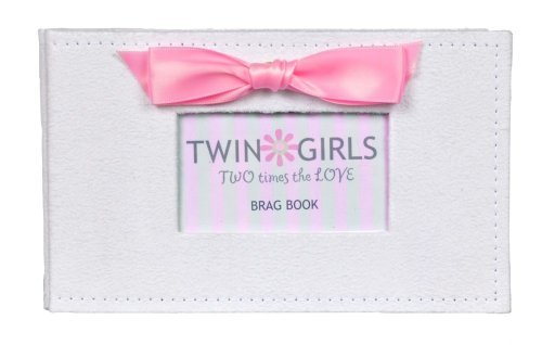 Twins Photo Album Brag Book (Twin Girls)