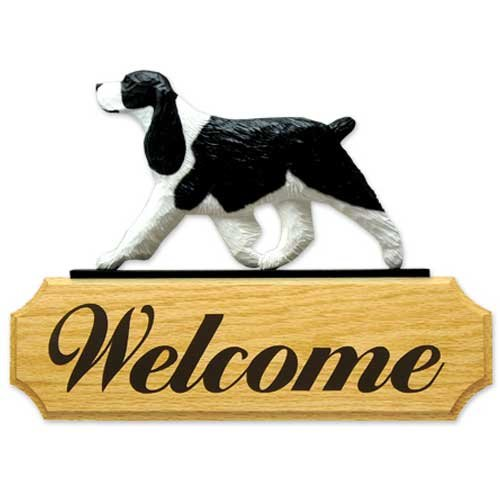 Spaniel Welcome Sign - 1