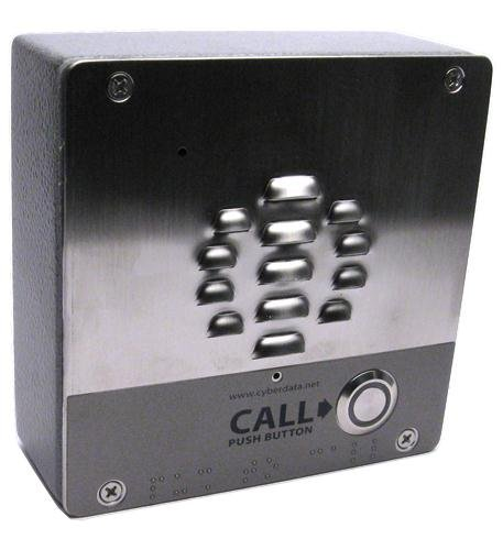 Cyberdata 011186 V3 Voip Outdoor Intercom Cpnt - Voip Door Intercom