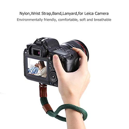 DP-iot Camera Strap Wrist Band 1Pcs Hot Sale Hand Nylon Rope Camera Wrist Strap Wrist Band Lanyard for Leica Digital SLR Camera Leica